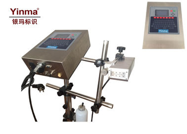 China High Definition Inkjet Printer , Expiry Date Printing Machine For Cardboard / Wooden Box supplier