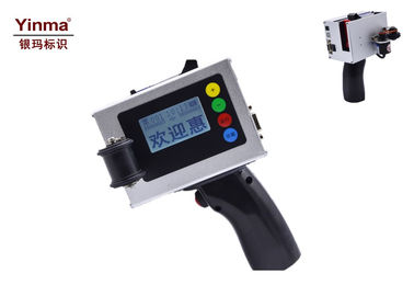 China Multi Language Handheld Inkjet Printer , TIJ Inkjet Printer For Metal / Plastic supplier