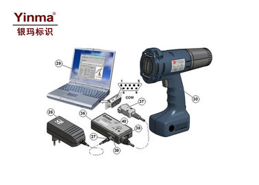 China High Speed Handheld Inkjet Printer 360 Degree Printing For Cans / Barrel supplier