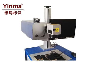 China 3W Desktop Laser Marker , Ultraviolet Laser Marking Machine For Plastic factory