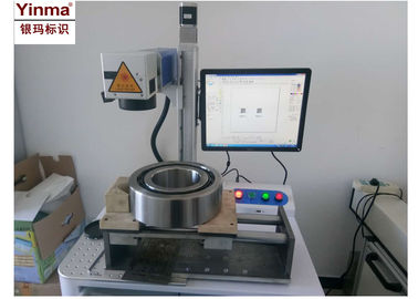 China Yinma YM-1320B+ 20 Watt Laser Marking Machine For Metal / Letters Marking factory