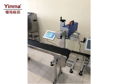 China CO2 Desktop Laser Marking Machine / Mini Laser Marking Machine For PET Bottles factory