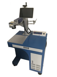 Desktop 30w Fiber Laser Marking Machine For Metal Engraving 30000 Hours